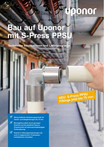 Uponor S-Press PPSU