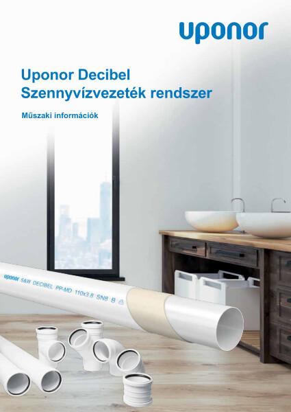 Uponor Decibel műszaki információk