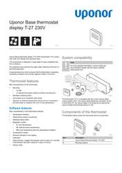 PI Base thermostat display T-27 230V EN 1121209 v2