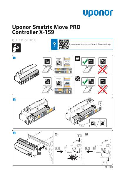 Uponor Smatrix Move PRO quick guide