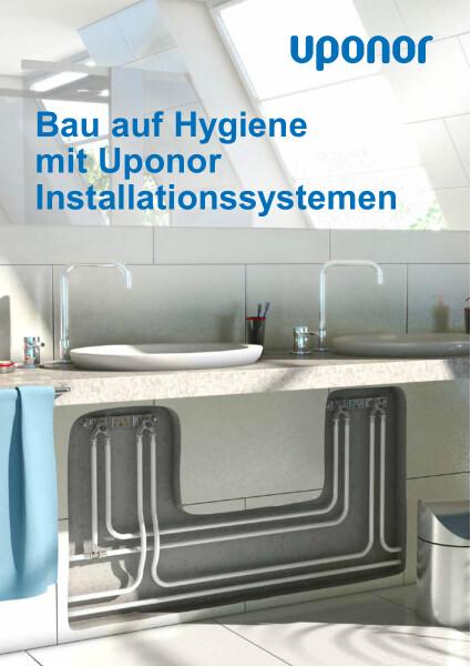 Uponor Systemübersicht Installationssysteme