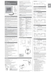 IM Comfort E digital thermostat T-87 230V INT 1091150 201910