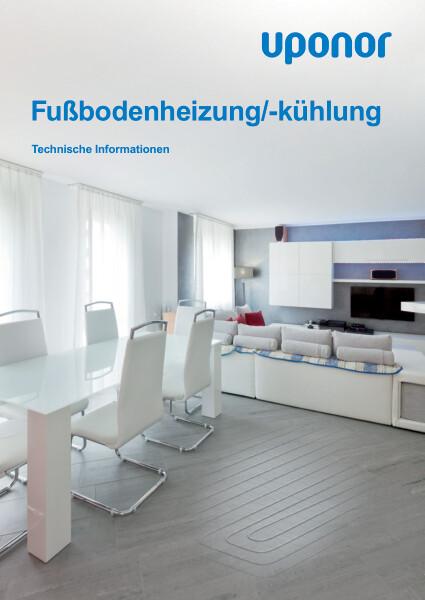 Uponor Fußbodenheizung/-kühlung