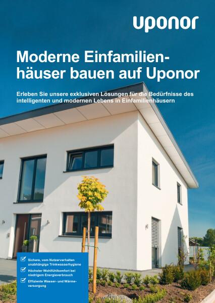 Uponor Lösungen für Einfamilienhäuser