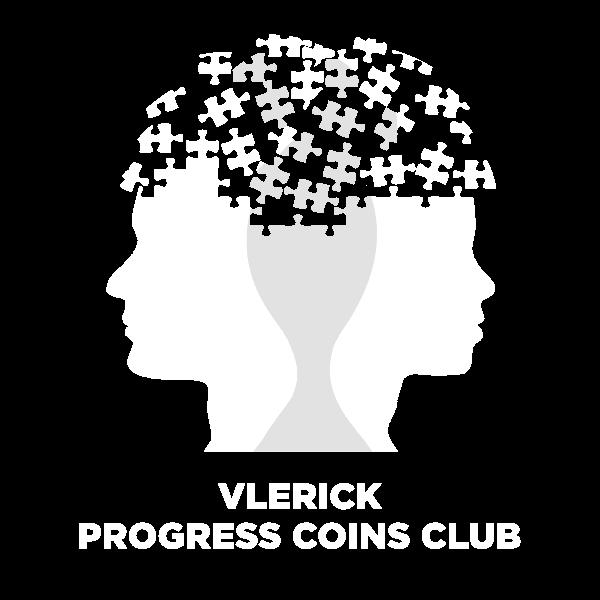 Vlerick Progress Coins Club icon white