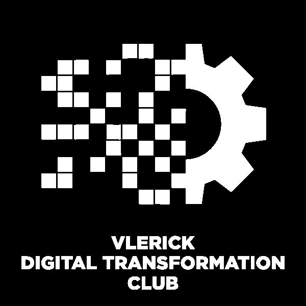 Vlerick Digital Transformation Club icon white