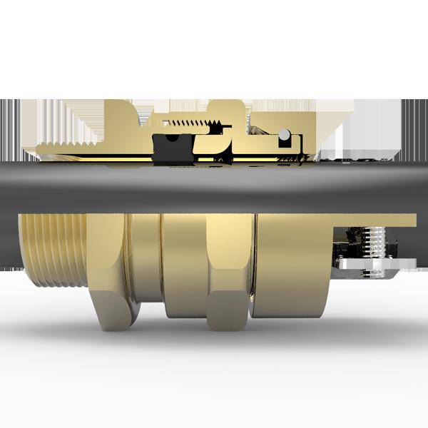 Hawke 501/321 Messing met Metrische draad