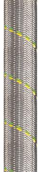 Flexa Beschermslangen Met verzinkte staalomvlechting