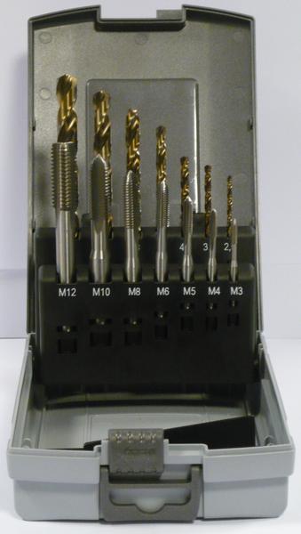 Tip HSS Machinetapsets Set
