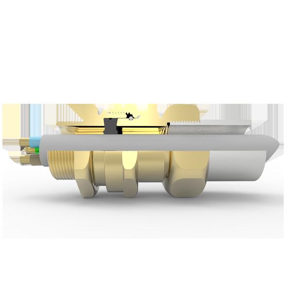 Hawke 501/414 Alt. ring, Messing met Metrische draad