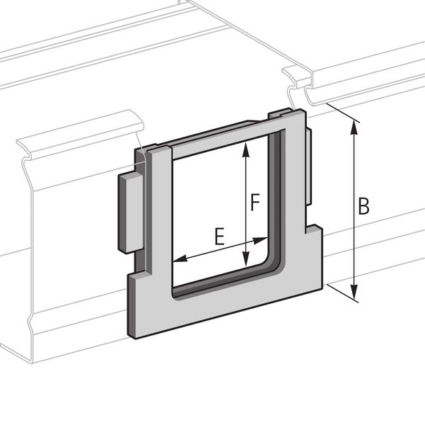 Pflitsch Mini-kanalen Hoekbescherming