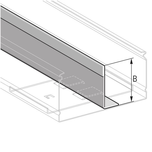 Pflitsch Mini-kanalen Scheidingswand