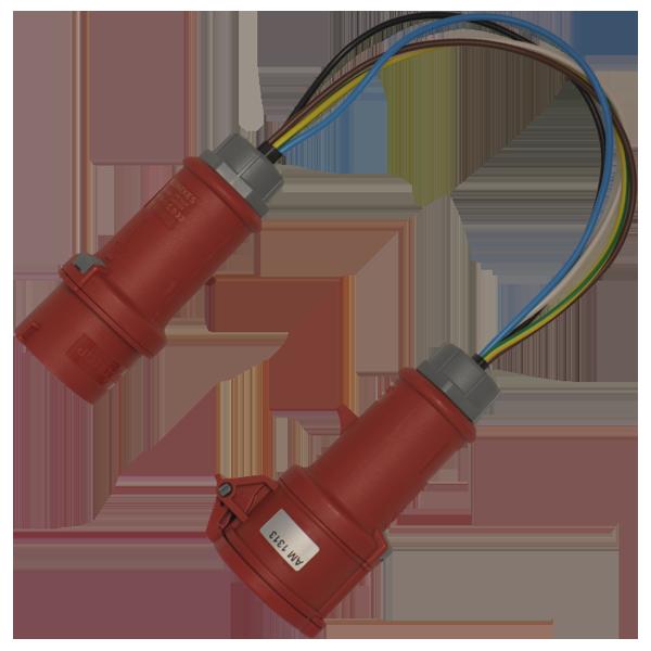 Metrel Meetadapters Adapterkabel voor lekstroommeting