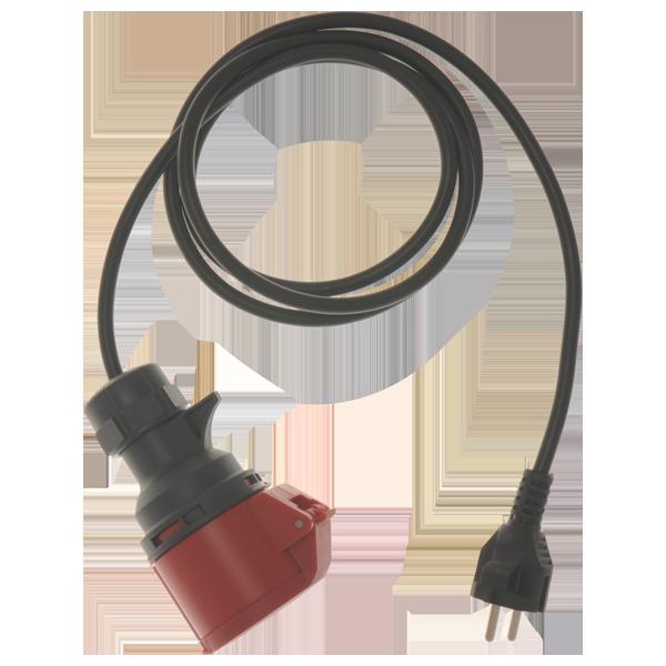 Metrel Meetadapters CEE-Schuko adapterkabel