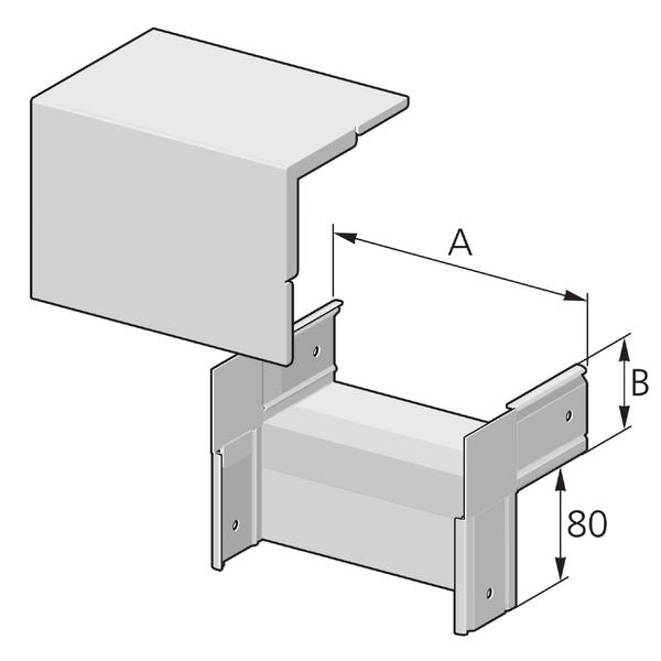 Pflitsch Mini-kanalen Hoekstuk 90 graden