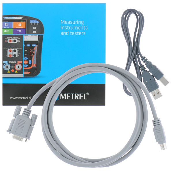 Metrel Software HVLink PRO voor isolatieweerstandtesters