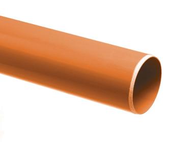 PVC BUIS DIKW.ROODBR110X3,2 5M
