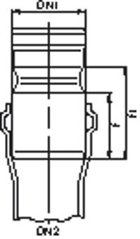 AANSL.PVC MOF 125 X SPIE 125