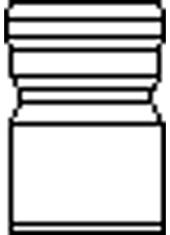 VERLOOPSTUK CONC.GEG.125X200MM
