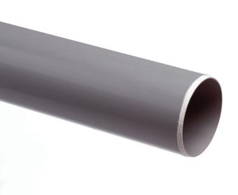PVC BUIS DIKW.GRYS 110X3,2 2M.