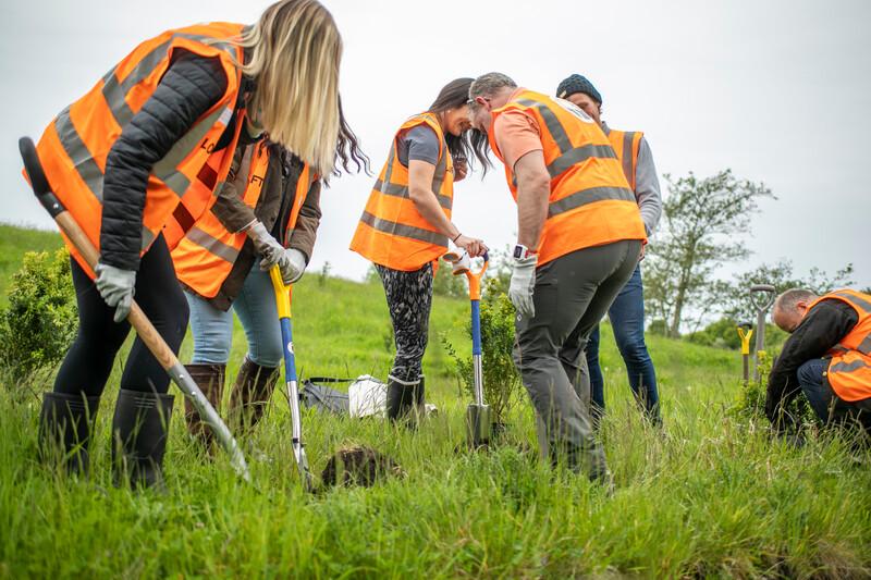 LOFT_18th Birthday Tree Planting_Gone West_Hurlston Hall_May 2021_21