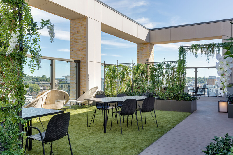 Union Wharf Outdoor Amenity Space