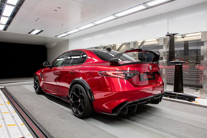 Sauber Engineering - Alfa Romeo Giulia GTA Wind Tunnel Testing