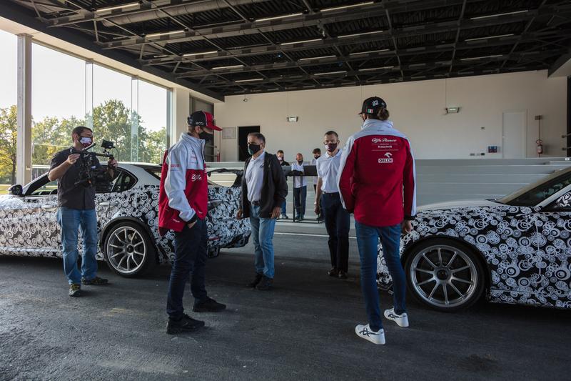Sauber Engineering - Alfa Romeo Giulia GTA Balocco Test
