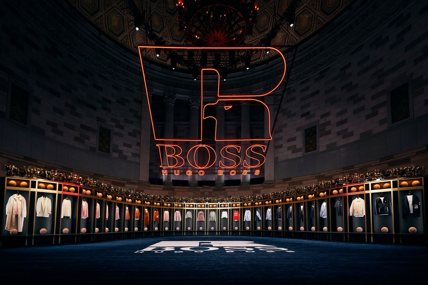 Hugo Boss & Russell Athletic Launch